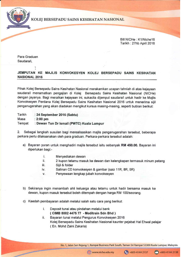 Niche caring with compassion diploma in paramedic invitation letter stopboris Images